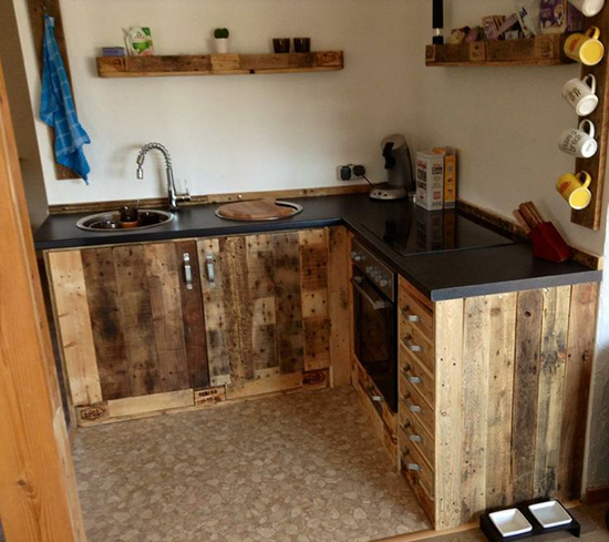 Kitchen Set Pallet