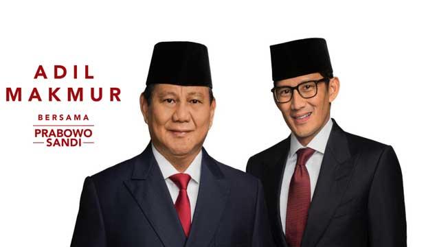 sandiaga uno menjadi calon wakil presiden ri 2019-2024