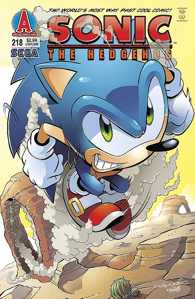 Hedgehogs Can T Swim Sonic The Hedgehog Issue 218