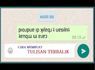 Tulisan Unik WhatsApp