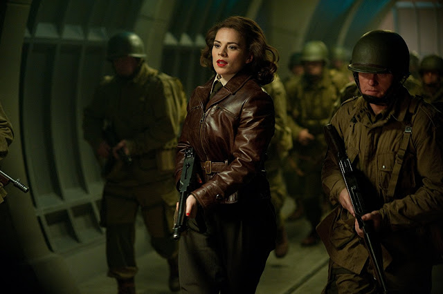 Hayley Atwell als Peggy Carter.