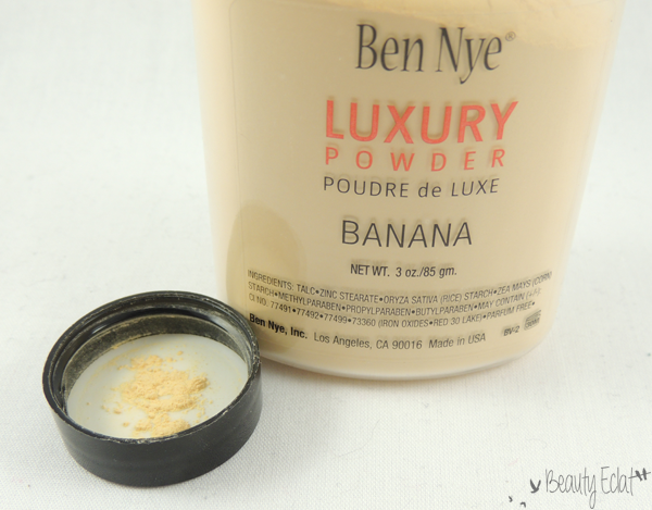 revue avis test luxury powder ben nye
