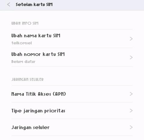 Cara setting APN telkomsel 3G dan 4G tercepat - azzahirmedia.com