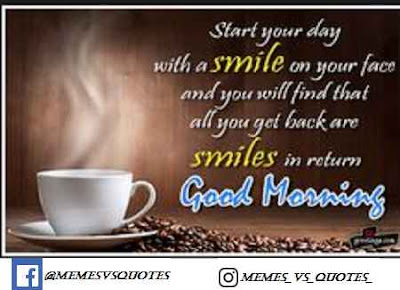 Smile Good Morning
