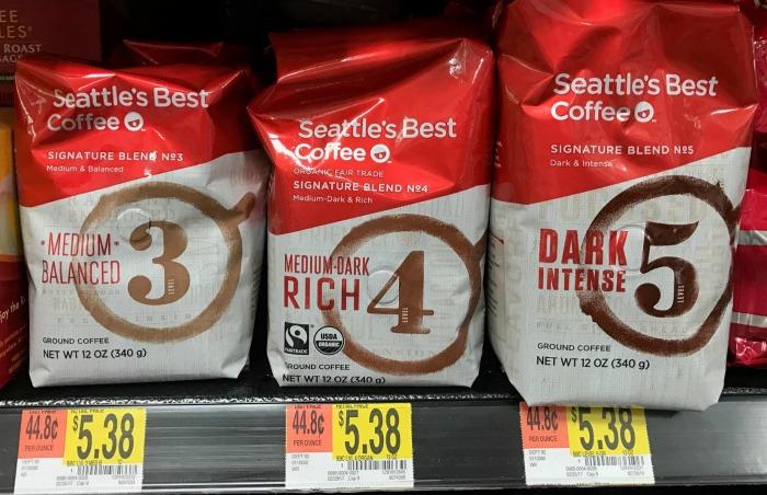 Seattle's Best Coffee at Walmart