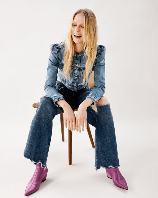 Blazer XL, Denim, Rosa, Street Style, Cool, TendenciasSS17, Look Book Zara