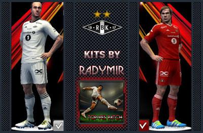 Rosenborg BK alternative home & third kits 16-17