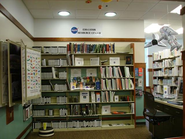 nasa library education centre