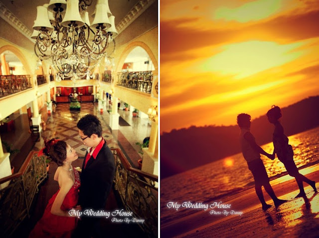 grand hotel wedding photo