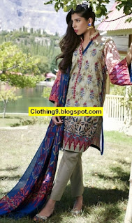 LSM Embroidered Shawl Collection 2016-2017 Catalog