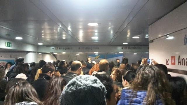 La situazione della Metro A