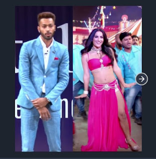 Hardik Pandya and Elli Avram