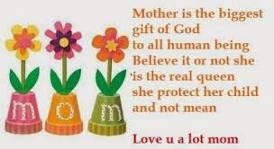 Happy Memorial Day 2016: mother is the biggest gift of God to all human being believe it or not she is the real queen