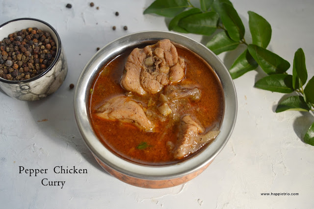 Pepper  Chicken Curry Recipe