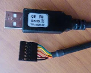5V USB-FTDIケーブル