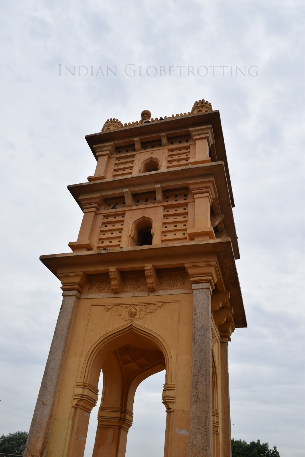 Pigeon tower in gandikotta
