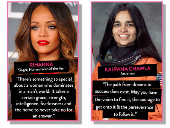 Nykaa, website for makeup and skincare, said a lot by quoting 6 wise women and their wise words. Two of them are here.