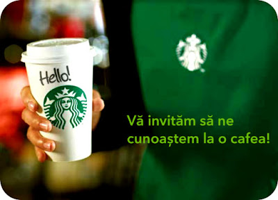 Ne vedem la Starbucks Mercur Center?
