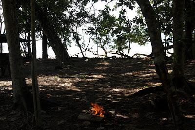 Area Camping dan api unggung Tanjung Datu
