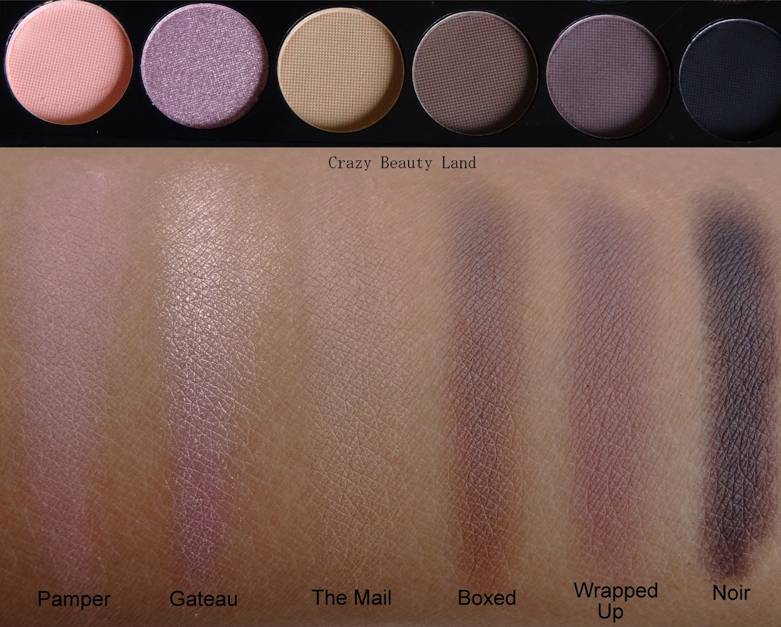 Sleek Makeup iDivine Oh So Special Palette Swatches