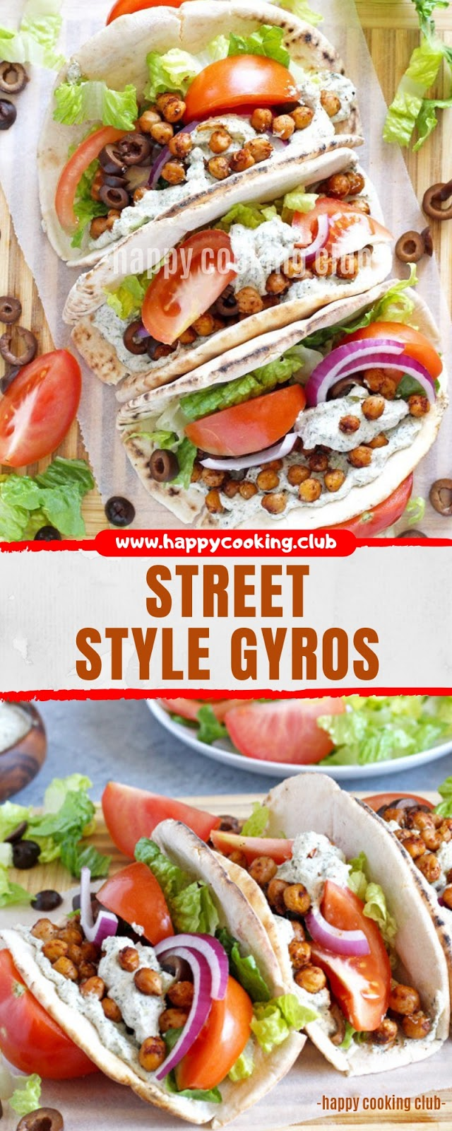 STREET STYLE GYROS