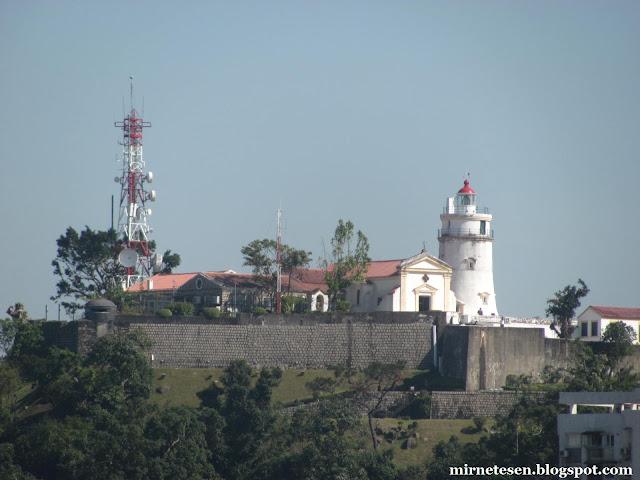 Макао - Маяк и крепость Гиа