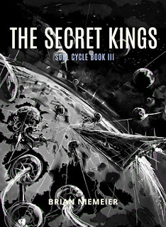 The Secret Kings cover sketch