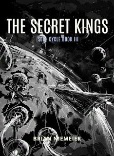 The Secret Kings cover sketch