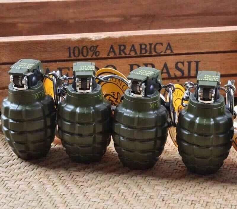 Bật lửa Hộp quẹt Hình lựu đạn quả na giá sỉ rẻ nhất