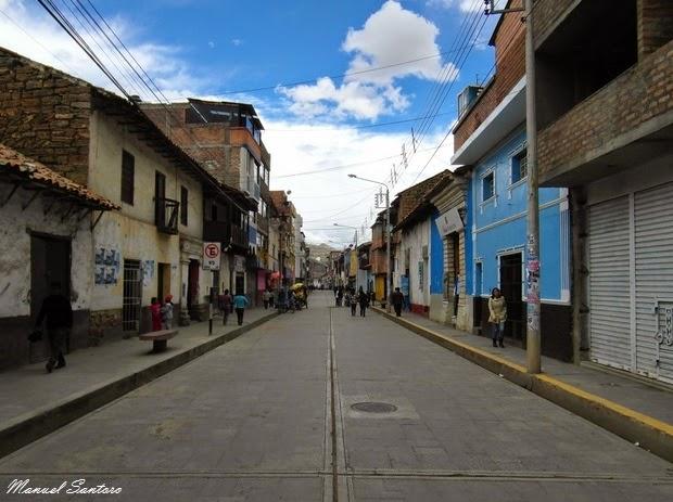 Huancavelica, calle Toledo