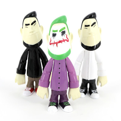 Phuak Vinyl Figure by Clogtwo x Mighty Jaxx - Black, The Joker & White Editions