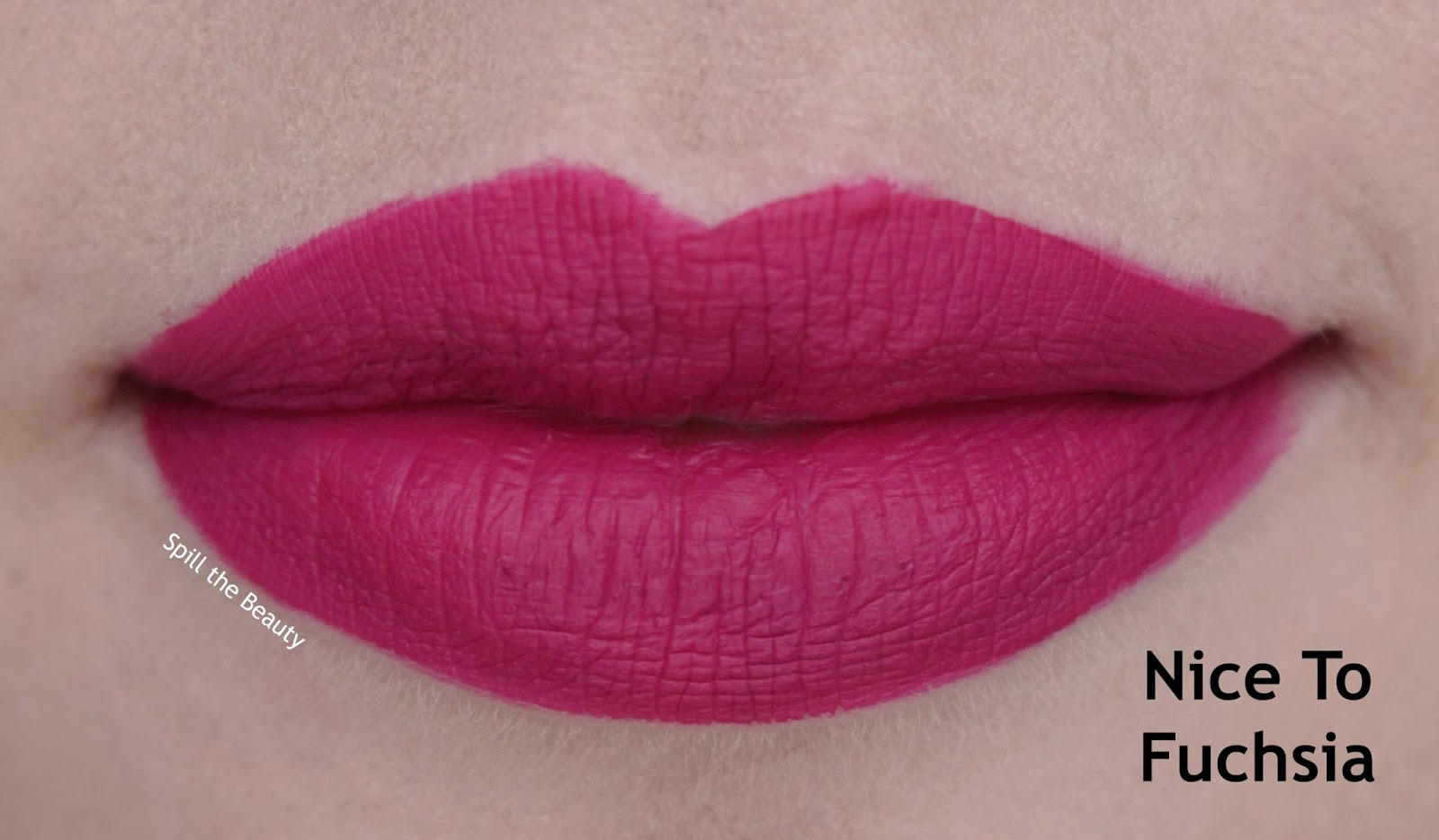 wet n wild liquid catsuit matte lipstick review swatches look nice to fuchsia 927b lips