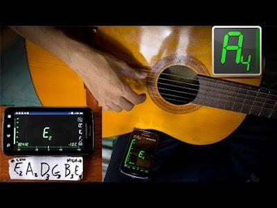 Cách sử dụng máy lên dây đàn Guitar (Tuner)