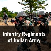 Infantry Regiments of Indian Army