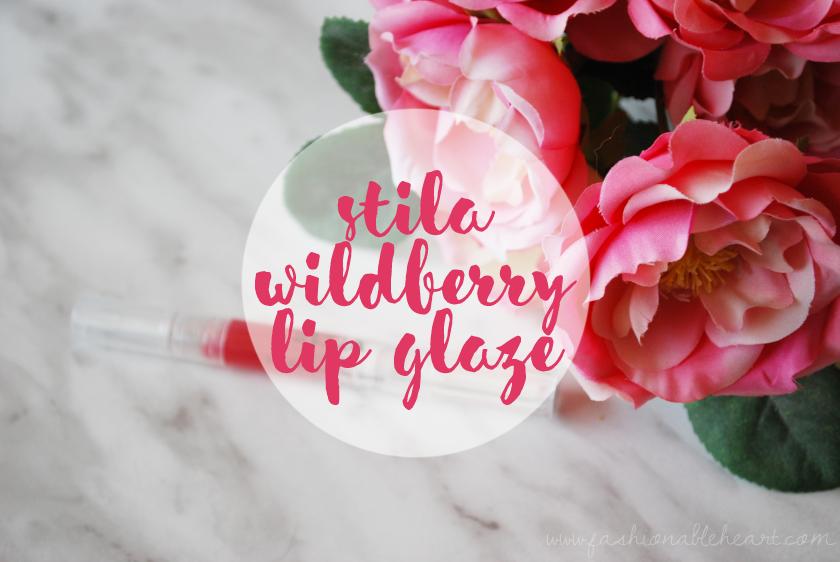 bbloggers, bbloggersca, stila, lip glaze, sephora, winners, wildberry, swatches, lips, review