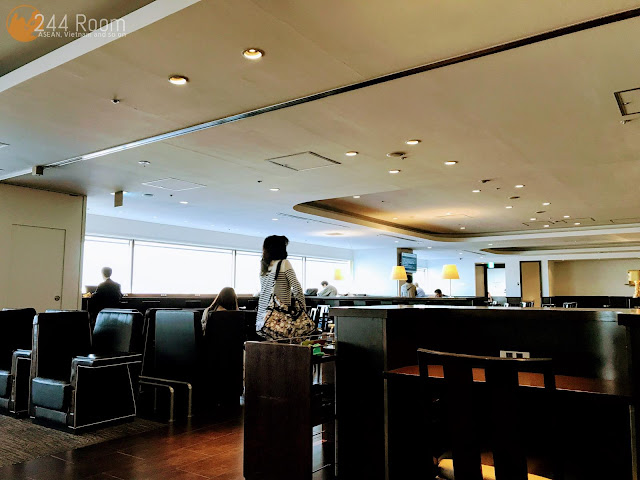 JALサクララウンジ羽田空港 Sakura lounge haneda airport domestic2