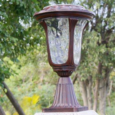 Các phong cách thiết kế của đèn trang trí trụ cổng