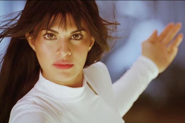 Jacqueline Fernandez In White Shirt at Horse Race Course ...  |Race 2 Jacqueline Fernandez Hairstyle
