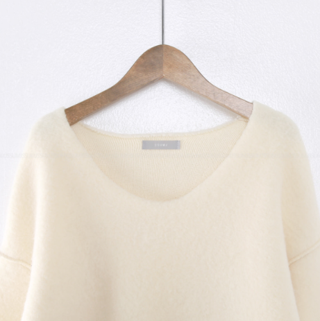 V-Necked Sweater