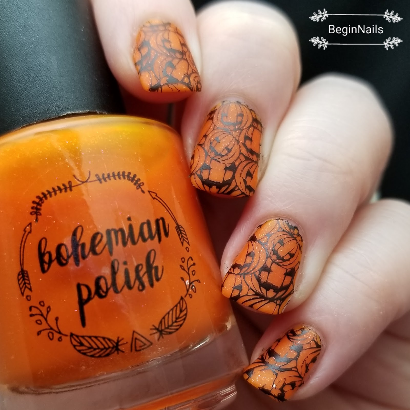 Let\'s Begin Nails: It Girl Nail Art IG121 Plate Review Part 1