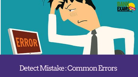 detect mistakes