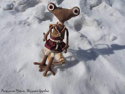 Царевная лягушка ручная работа купить