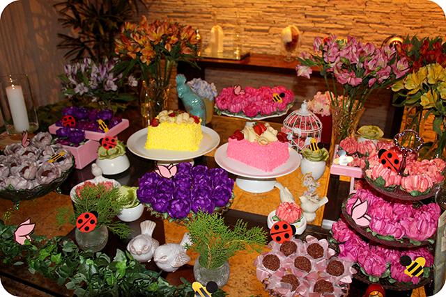 Decoração de Festa de Aniversário Jardim