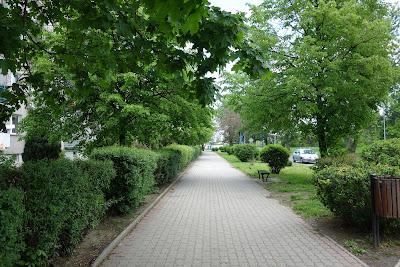 Osiedle Piastowskie, wszechobecna zieleń