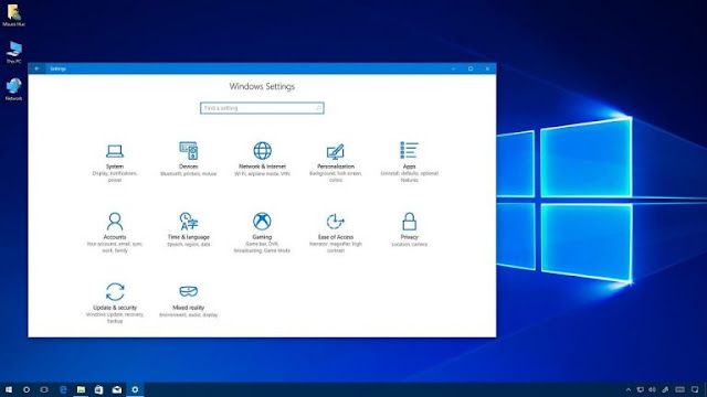 Windows 10 Pro ISO Agust 2018 Free Download
