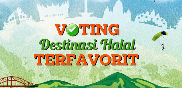 Voting Destinasi Wisata Halal (Ramah Muslim) Terfavorit