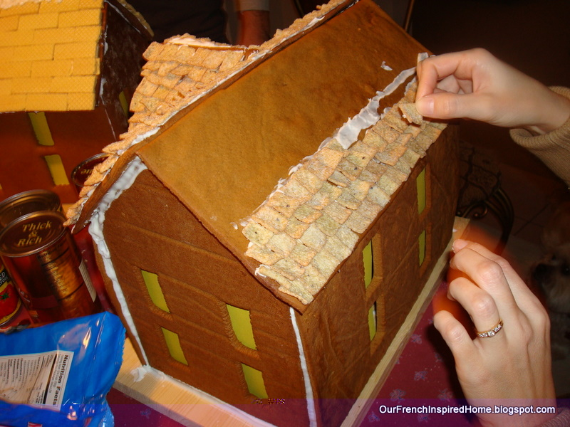 Our French Inspired Home Our Holiday Gingerbread House