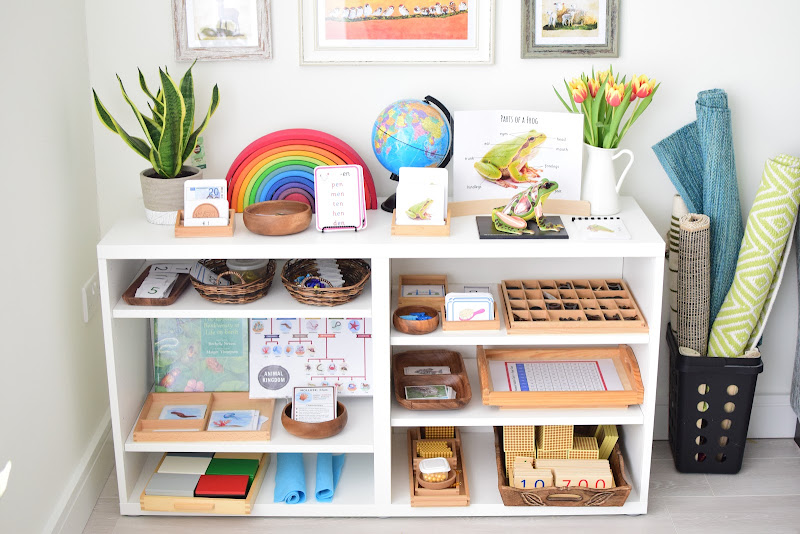 March Springtime Shelf Activities