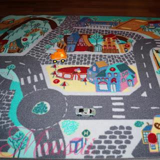 gesamte Teppich