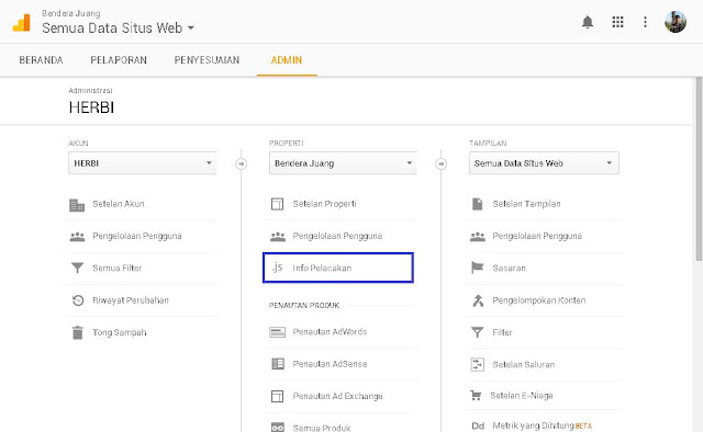Cara memasang Google Analytics di blog